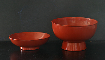 Negoro bowl with lid